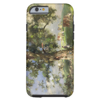 The Old Ash Tree (oil on canvas) Tough iPhone 6 Case