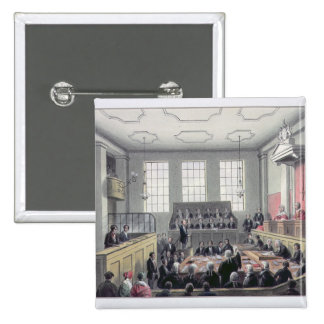 The Old Bailey, London Pinback Buttons