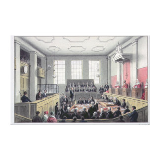The Old Bailey, London Gallery Wrapped Canvas