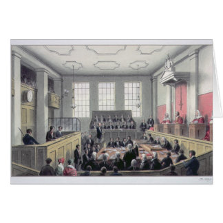 The Old Bailey, London Greeting Card