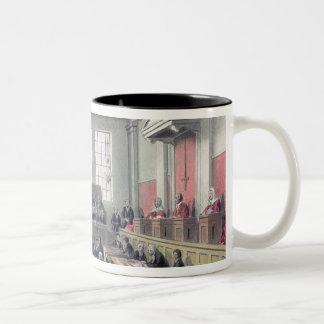 The Old Bailey, London Two-Tone Coffee Mug