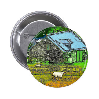 THE OLD BARN PINBACK BUTTON