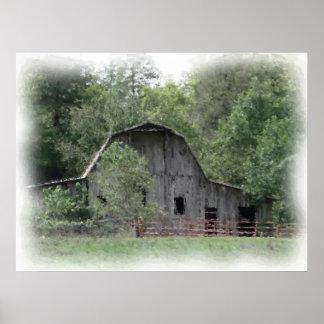 The Old Barn Print