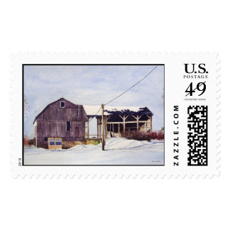 The Old Barn- stamps