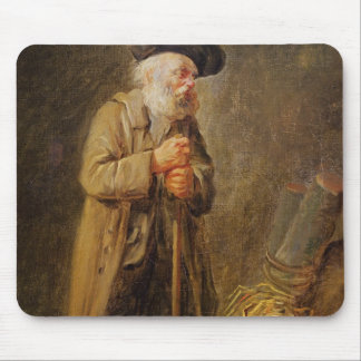 The Old Beggar Mouse Pad