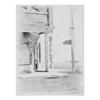 The old Billy's Ritz. Print