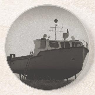 The old boat vintage coaster