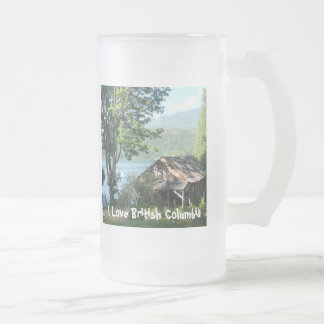 The Old Boathouse Frosted Glass Beer Mug