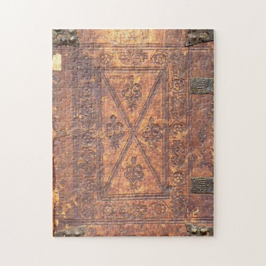 The Old Book Cover Jigsaw Puzzle