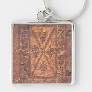 The Old Book Keychain