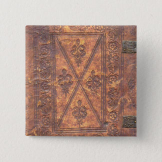 The Old Book Pinback Button