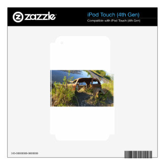 The Old Cars of Eklutna Tailrace iPod Touch 4G Decal