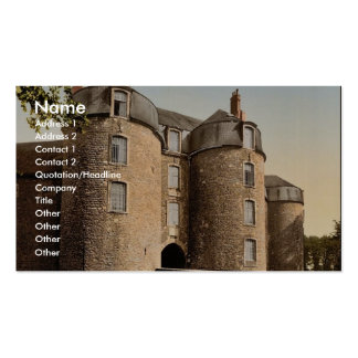The old castle, Boulogne, France classic Photochro Double-Sided Standard Business Cards (Pack Of 100)