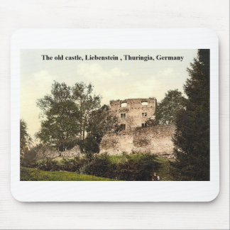 The old castle, Liebenstein  Thuringia, Germany Mouse Pad