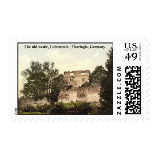 The old castle, Liebenstein ,Thuringia, Germany Postage Stamp