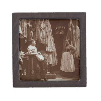 The Old Clothes Shop, Seven Dials, from 'Street Li Jewelry Box