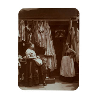 The Old Clothes Shop, Seven Dials, from 'Street Li Rectangular Photo Magnet