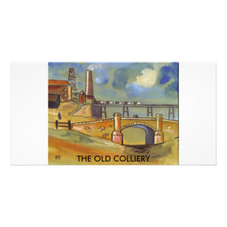 THE OLD COLLIERY PERSONALIZED PHOTO CARD
