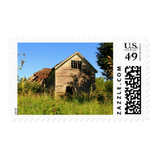 The Old Country Barn Postage Stamp
