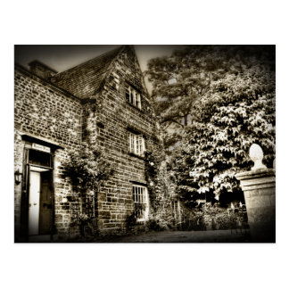The Old Country House (B&W) Postcard