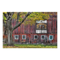The Old Dairy Farm Barn Photo Print
