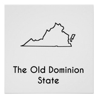 The Old Dominion State Poster