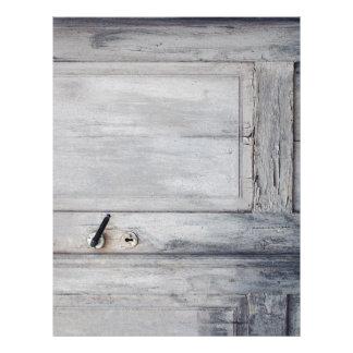 The old door letterhead