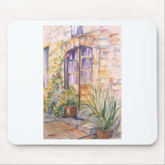 The old door mouse pad