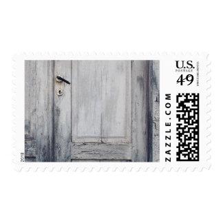 The old door postage
