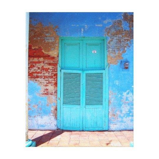 The Old Doorway Canvas Print