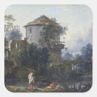 The Old Dovecote Square Sticker