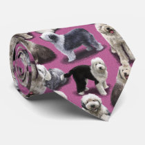 The Old English Sheepdog OES Tie