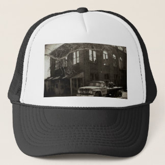 The old factory trucker hat