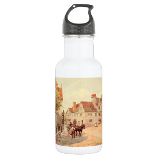 The Old Falcon Inn, Bedfordshire, England 18oz Water Bottle