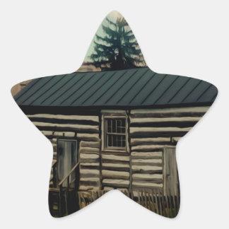 The Old Farm House. Star Sticker