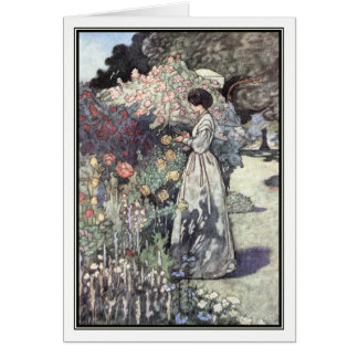 The Old-Fashioned Garden by Charles Robinson Card