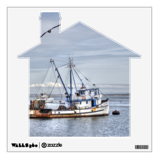 The Old Fishing Boat Wall Sticker