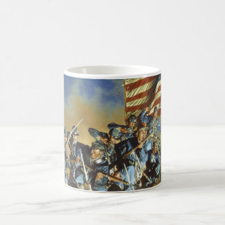 The Old Flag Never Touched the Ground Classic White Coffee Mug