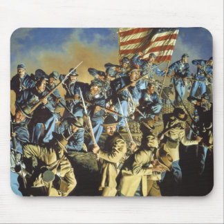 The Old Flag Never Touched the Ground Mouse Pad