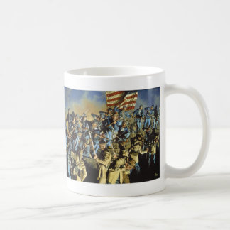 The Old Flag Never Touched the Ground Mugs