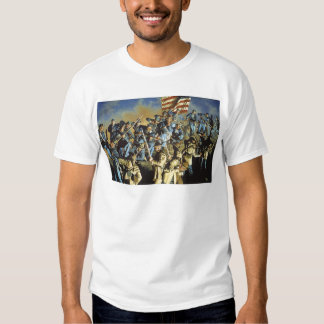 The Old Flag Never Touched the Ground Tee Shirt