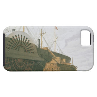 The Old Frigate HMS Agamemnon with her weight of c iPhone 5 Cases