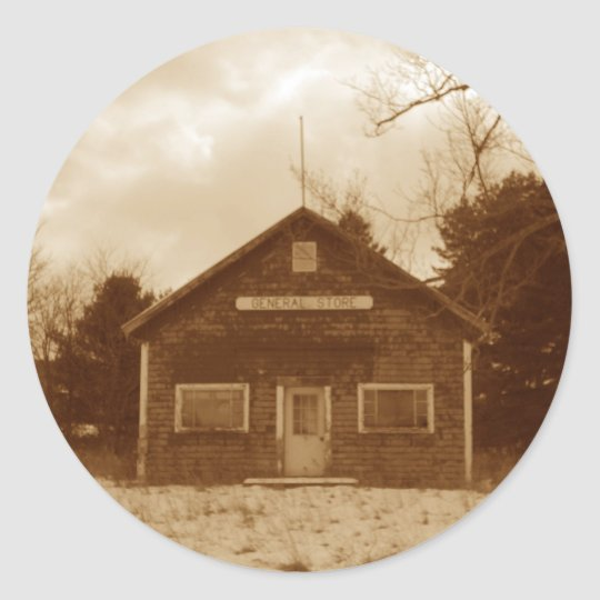 The Old General Store-  Sticker