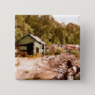THE OLD GOLD MINE PINBACK BUTTON