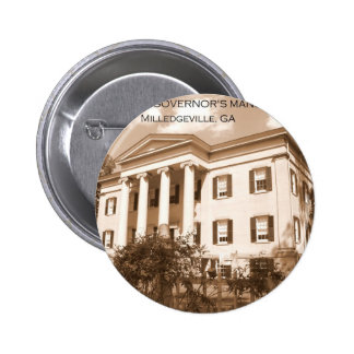 The Old Governor s Mansion Milledgeville Georgia Pinback Buttons
