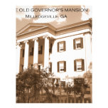 The Old Governor's Mansion, Milledgeville, Georgia Letterhead