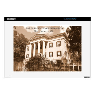 The Old Governor's Mansion, Milledgeville, Georgia Laptop Decal