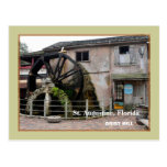 The Old Grist Mill at St. Augustine, Florida Post Cards