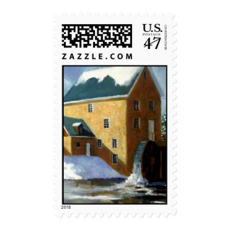 THE OLD GRIST MILL: STAMPS