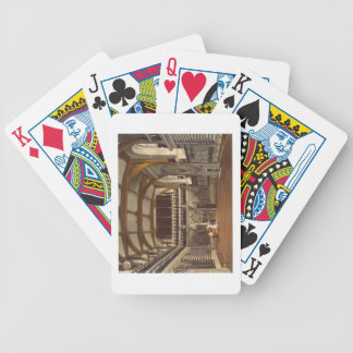 The Old Guard Chamber, The Round Tower, Windsor Ca Bicycle Playing Cards